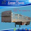 판매를 위한 세 배 차축 밴 유형 반 상자 트레일러