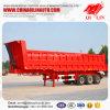 Remorque bon marché de camion de camion à benne basculante de charge lourde d'essieux des prix 3