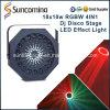 lumière d'effet du tournesol LED de boîte de nuit de mariage de 18*10W RGBW