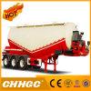 De la alta calidad del grano del cemento del polvo del tanque acoplado semi