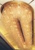 Luxuxkristallhotel-Vorhalle-Decken-Lampen-Leuchter
