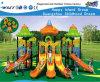 Campo de jogos ao ar livre Hf-12801 do quintal de Playsets da caraterística da flor