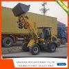 Mini caricatore della rotella di Zl15-1.5ton con la grande grande baracca