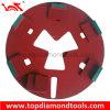 Disco di molatura del diamante per la molatura concreto con il sistema della serratura di Redi