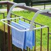 Het draagbare Vouwende Rek van de Handdoek, Kleren die Rek droogt