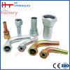 Encaixe de tubulação hidráulico fêmea reto do aço inoxidável do SAE do cotovelo (27811)