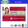 Carte d'étudiant à identité intelligente PVC 2014 Starcard (carte photo)