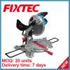 Scies de mitre de Fixtec 1600W pour le bois (FMS25501)