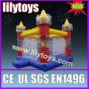 Duidelijk het kasteel van jonge geitjes opblaasbaar bouncy het springen speelgoed