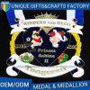 クラブメダルが付いている工場価格の高品質のカスタム金属