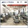 Überschüssiges Belüftung-Haustier PS-ABS-PC-PET Film-Pelletisierer-Polymer-Plastik des LDPE-HDPE-pp. BOPP