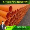 Dn 250 mm de cable eléctrico subterráneo Mpp tubo conduit