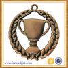 青銅色のトロフィの形のInsided亜鉛合金メダル賞は使用した