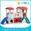 Chambre en plastique de jeu de meubles en gros de jardin d'enfants avec les glissières d'intérieur de glissière, les glissières en plastique des enfants, jouet de bébé de maison de théâtre