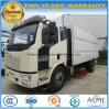 FAW 4X2 Wäsche des Straßen-Kehrmaschine-LKW-8 der Straßen-M3 und sauberer LKW