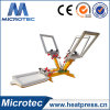 MANUAL 4 Color 1 Station Screen Printing Machine with Micro Registration
