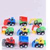 9 Stuk speelgoed van de Auto van de Voertuigen van de Techniek van het pak het Geassorteerde Mini voor Jonge geitjes