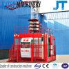 Alzamiento de elevación de la construcción del precio bajo de China Sc200/200 2t de la carga del doble del material popular de la jaula