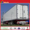 옆 뒷문 3개의 차축 Cargo Box 밴 Truck