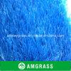 Tappeto erboso decorativo di Astro dell'erba di plastica blu
