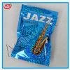 Глянцеватый мешок застежки -молнии алюминиевой фольги джаза для мешков 3G 10g/Seal для порошка/мешка печатание прокатанного алюминиевой фольгой