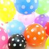 Le latex de POINT de polka monte en ballon en gros