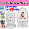 2.4GHz Dos-manera Talk Wireless Baby Monitor (VB601)