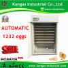 Incubateur automatique commercial d'oeuf de caille de machines d'Agriculatural