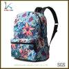Sac floral de sac à dos d'école d'impression en gros de sublimation
