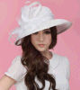 Summerのための2015熱いSale Highquality Ladies Graceful Sinamy Church Hats