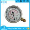 Le ce a reconnu 63mm indicateur de pression rempli d'huile de la glycérine 250kg ou des silicones