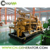 Générateur de biogaz de la centrale de biogaz d'engrais de vache à production combinée de chaleur et d'électricité 500kw