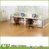 Partition en aluminium faite sur commande de haute fonction d'OEM de meubles de bureau