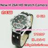 720p H. 264 Watch Camera mit LED Flash Light