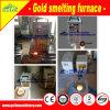 Золото печи снетка золота индукции уточняет машину для обрабатывать драгоценного металла минеральный