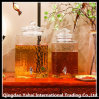 10L de Kruik van Squar van het glas/de Fles van de Wijn/de Tank van de Gisting van het Glas