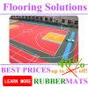 El baloncesto se divierte la corte, nuevo fácil impermeable instala el suelo del dispositivo de seguridad de los PP
