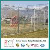 Belüftung-überzogener Kettenlink-Zaun-preiswerter Kettenlink-Zaun