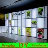 휴대용 모듈 무역 박람회 전람 LED Lightbox 벽