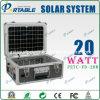 солнечная система генератора 20W для домашнего освещения (PETC-FD-20W)