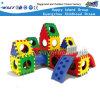 Plastic Jonge geitjes die de Apparatuur van Playsets van de Speelplaats (M11-09604) beklimmen