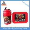 Crianças 500ml Portable Plastic PE PP Lunch Box Water Garrafa