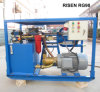 In pieno pompa riempiente di malta ad alta pressione idraulica Rg90