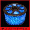 110 В водонепроницаемый синий круглый светодиодный индикатор каната