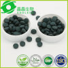Tablettes organiques disponibles de poudre de Spirulina d'échantillon