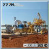 60tph Mobile Asphalt Batching Plant Double Drums