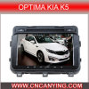 Reprodutor de DVD especial do carro para as situações óptimas KIA K5 com GPS, Bluetooth. com o Internet duplo de WiFi 3G do disco do núcleo 1080P V-20 do chipset A8. (CY-C345)