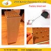 Tire de la caja de seguridad de reacción de los amarres Pully Metal Anillo antirrobo mostrar
