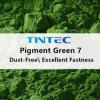 優秀な固着の特性(予混合緑E7500)が付いている緑の顔料7