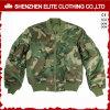 Куртка бомбардировщика Camo вышивки 2018 одежд способа дешево (ELTWBJI-15)